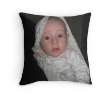 Struck With Wonder Throw Pillow