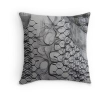 FABRIC~IN~MOVEMENT 13 Throw Pillow