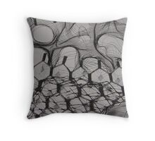 FABRIC~IN~MOVEMENT 1 Throw Pillow