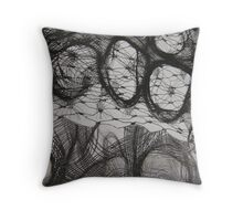 FABRIC~IN~MOVEMENT 10 Throw Pillow