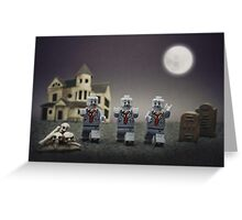 Zombie Escape! Greeting Card