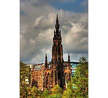 Scott's Gothic Rocket Photographic Print