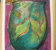 V&A Museum piece in mixed media 4 Jar by Tuartkatz
