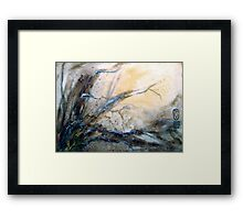 The Edge of The Sky.. Framed Print