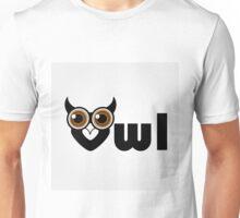 Owl- a symbol of wisdom  Unisex T-Shirt