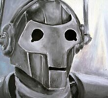 Dr Who Villains No.6 :Cyberman by debzandbex