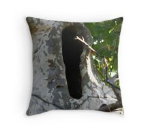 Sycamore Yawn Throw Pillow