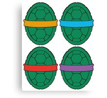TMNT - Shells Canvas Print