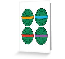 TMNT - Shells Greeting Card