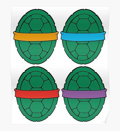 TMNT - Shells Poster