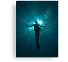 The shadow cross Canvas Print