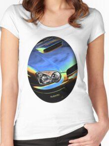 Subaru Impreza  Women's Fitted Scoop T-Shirt