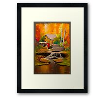 dream in color Framed Print
