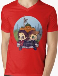 Winchesters in Melbourne Mens V-Neck T-Shirt