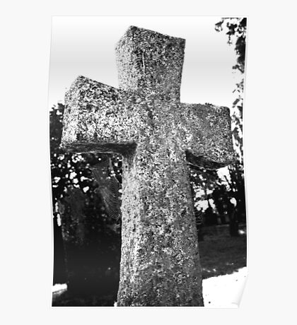 Cobwebs On The Cross Poster