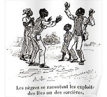 Achille Sirouy Mark Twain Les Aventures de Huck Huckleberry Finn illustration p019 Poster