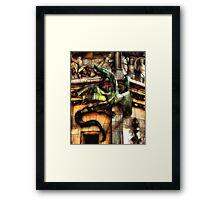 Medievil Dragon Framed Print