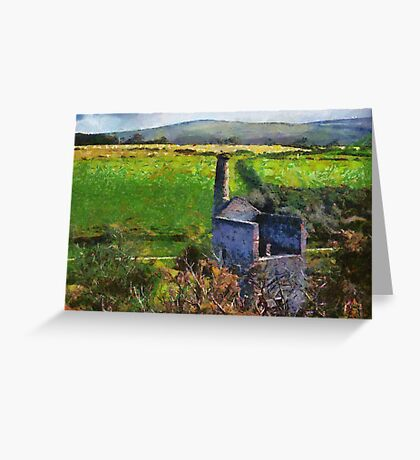 Wheal Betsy Mine, Dartmoor, Devon, UK  Greeting Card