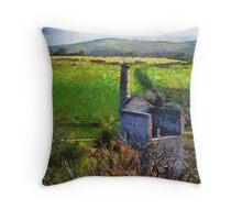 Wheal Betsy Mine, Dartmoor, Devon, UK  Throw Pillow
