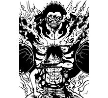 Luffy Gear 4 Transformation Photographic Print
