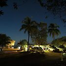 Camp at Seisia by Night by Chris Cohen