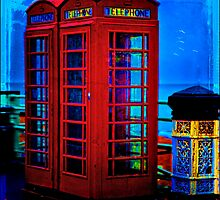 Red Phone Boxes by Chris Lord
