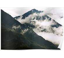 A Break In The Clouds Poster