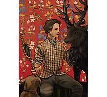 Will and the Ravenstag Photographic Print