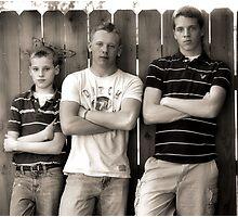 Tough Boys Photographic Print