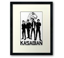 Kasabian - Velociraptor Framed Print