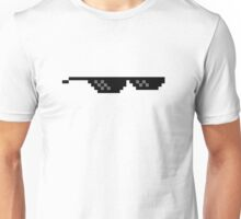 8 Bit MLG Glasses Unisex T-Shirt