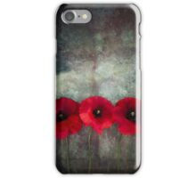 Red Poppies iPhone Case/Skin