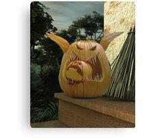 Pumpkin Food Chain Canvas Print