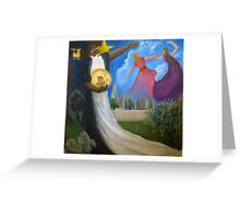The dream of Christ Greeting Card
