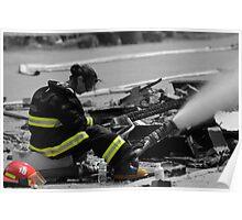 Magnetawan General Store Fire Poster