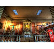 St. Mary's Catholic Church - Altar Photographic Print