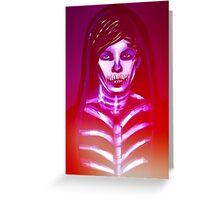 Skeleton Louis Greeting Card