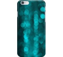 Blue Sparkles iPhone Case iPhone Case/Skin
