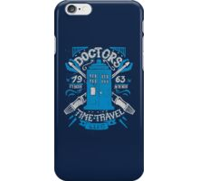 Doctors time travel club iPhone Case/Skin