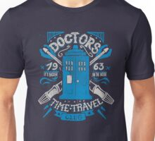 Doctors time travel club Unisex T-Shirt