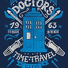 Doctors time travel club by Azafran