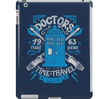 Doctors time travel club iPad Case/Skin