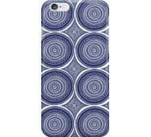 Blue Paisley Pattern iPhone Case/Skin