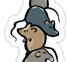 rat stack Sticker