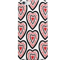 Ben's Heart Pattern iPhone Case/Skin
