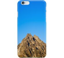Sky and Mountain top iPhone Case/Skin