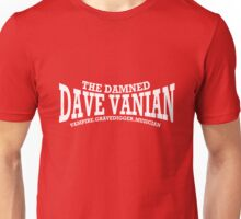 Dave Vanian Title and Description - In White Unisex T-Shirt