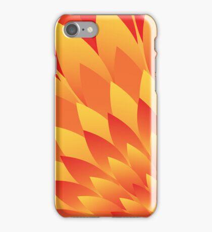 Firery Petals iPhone Case/Skin