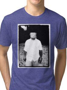 Scratch Face Tri-blend T-Shirt