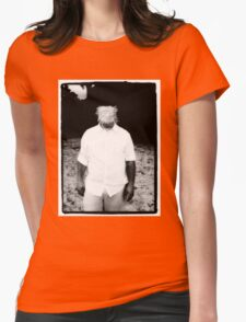 Scratch Face Womens Fitted T-Shirt